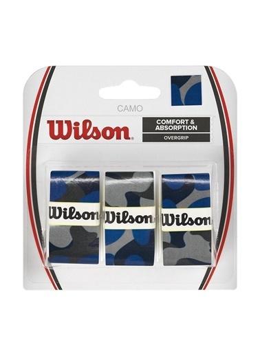 Wilson Wrz470840 Pro Overgrip Camo 3 Lü Raket Gribi Mavi
